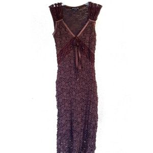 ANTHRO Fitted Lace Dress
